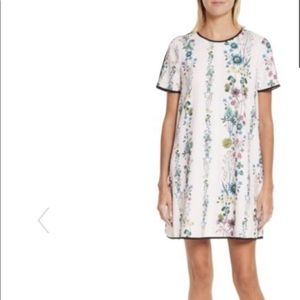 NWT Ted Baker London Soffiah Floral Shift Dress